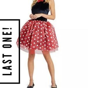Disney Minnie Mouse Costume with Tutu for Adults